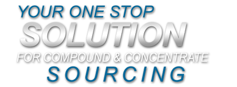 Your One Stop Solution for Compound and Concentrate Sourcing